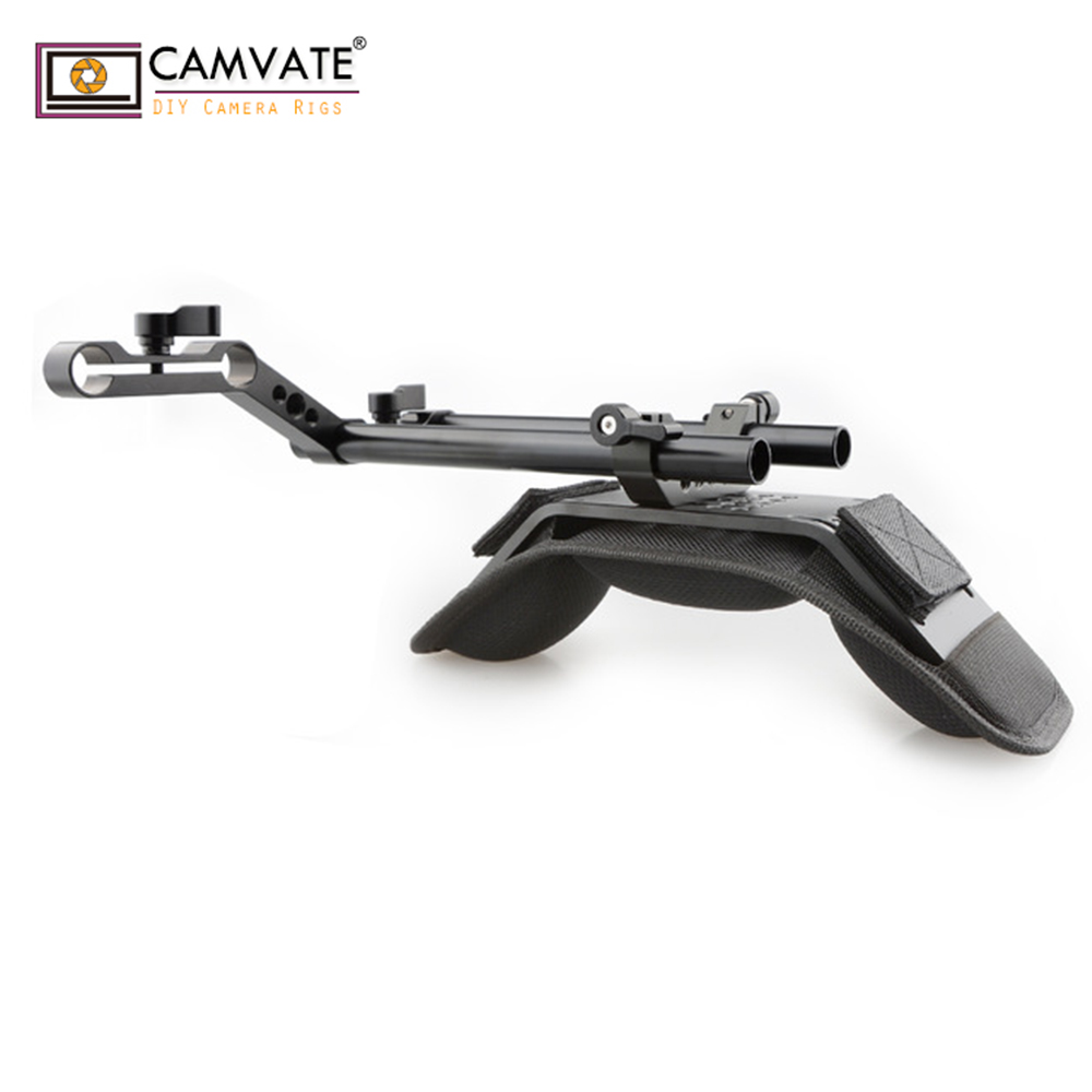 CAMVATE Z Shaped Best Cheap DSLR Shoulder Rig For Camera C1765 Camera Photography Accessories