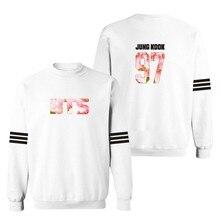 Fashion Bangtan Boys BTS White in 3xl Hoodies Men Sweatshirts Spring Autumn in 4xl Sweatshirt Men Hip Hop Hoody Black Fashion