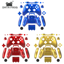цена на Chrome Replacement Full Shell And Buttons Mod Kit for Xbox One Slim Controller Custom Cover Housing For Xbox One S Slim