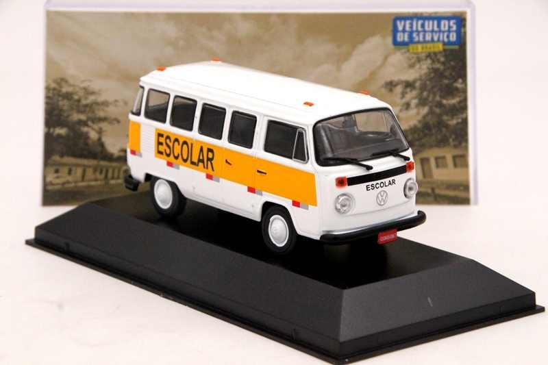 IXO Алтая 1:43 весы V ~ W Комби T2 Transporte Escolar автомобиля литьё под давлением модельных Ограниченная серия коллекция игрушек