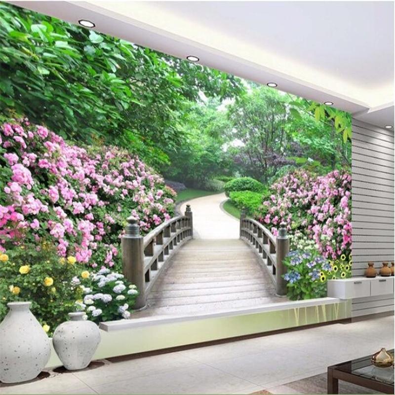 Beibehang Large Wallpaper Mural Custom Any Size Three: Beibehang Custom Home Decoration Mural 3d Room Wallpaper