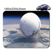 HOT SALES Custom Antiskid 3 D Destiny Artwork 220 X180x2mm Office Accessory Tablet And Mini PC Mouse Pad As Gift