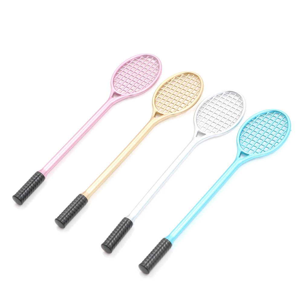 19.5cm Mini PVC Badminton Racket For Kids DIY Fluffy Slime Form Crystal Soil Kit Clear Slime Floam Putty Cream Keyboard New