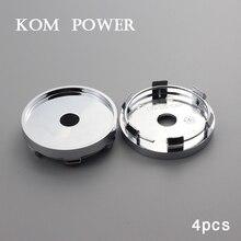 KOM 4pc 60mm wheel center hub cap universal centro de las tapas llantas blank no sign badge car rims cover abs KP60567