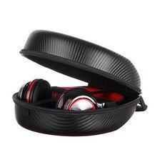 High Quality Portable EVA Carrying Hard Case Bag Cover for Headphones Earphones Headset