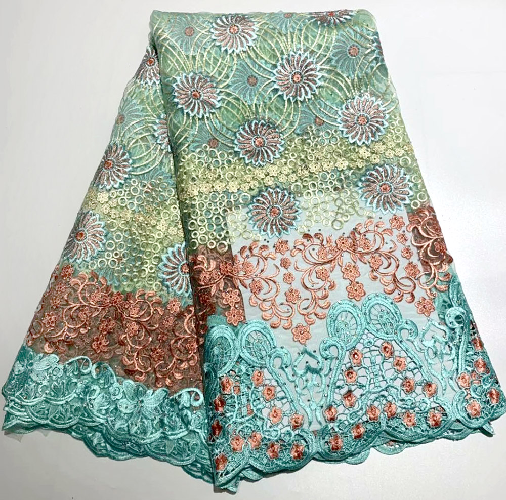 African lace fabric Nigeria embroidery lace fabric bride 2019 Pure and fresh high quality French lace lace womensAfrican lace fabric Nigeria embroidery lace fabric bride 2019 Pure and fresh high quality French lace lace womens
