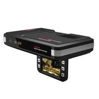12 V 3 in 1 720 P HD Dvr Camera Video Recorder Auto Dash Cam + GPS Snelheid Waarschuwing + Laser Speed Detector voor RU Radar Detector