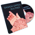 Sanada Gimmick Routines (DVD+Gimmick) - Magic trick, close-up,illusions, fire magic,Accessories