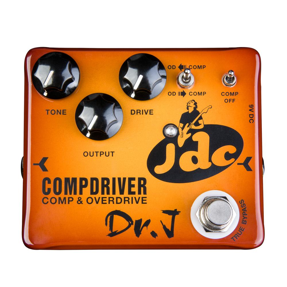 Dr. J Compdriver JDC Jose de Castro Signature Compressor plus Overdrive Effect Hand Made Electric Guitar Accessories Effect Peda цена