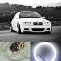 COB LED angel eyes para BMW E36 E38 E39 E46 faros LED anillo anillo del halo LED para E46 con el proyector