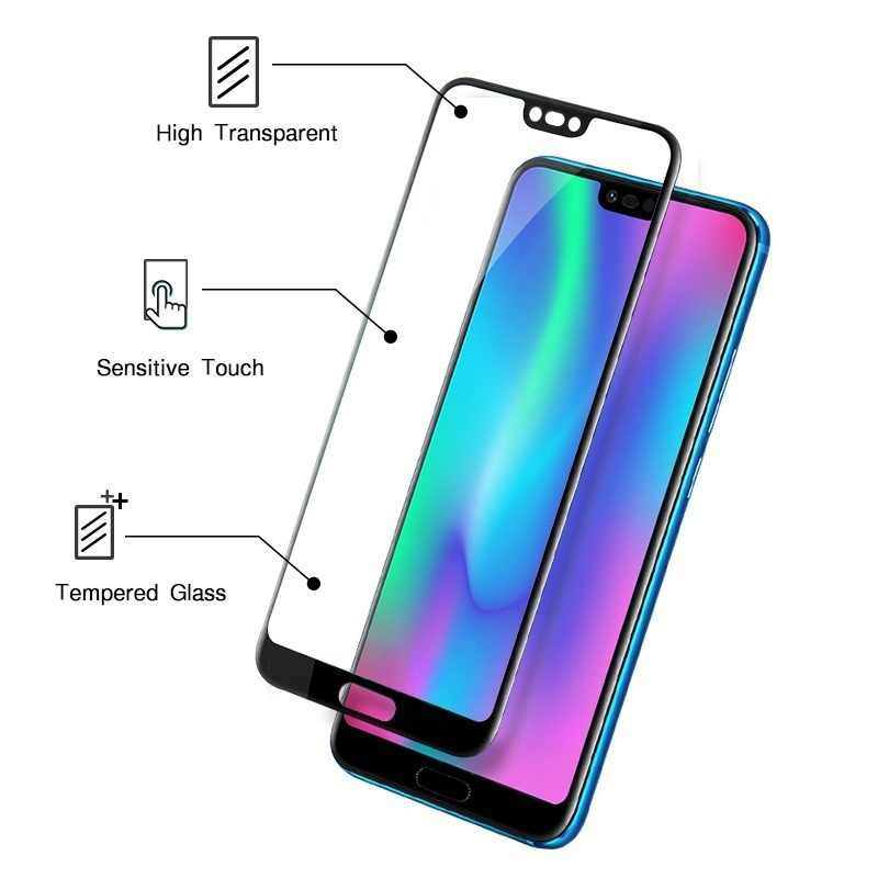 3D Full Cover Glass For Huawei Honor 7A Pro 7C 8X 5.45 5.7 5.99 inch Protector For Huawei Nova 4 Y5 Y6 Y7 Y9 prime 2018 2019
