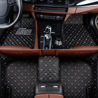 Flash mat leather car floor mats for Toyota Corolla Camry Rav4 Auris Prius Yalis Avensis Alphard 4Runner Hilux highlander foot