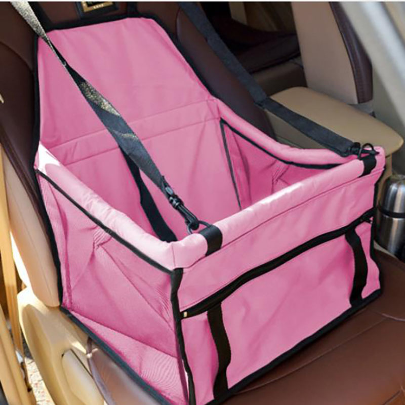Pet Dog Carrier Car Seat Pad Safe Carry House Cat Puppy Bag Car Travel Accessories Waterproof Dog Seat Bag Basket Pet Products85 in Dog Carriers from Home Garden