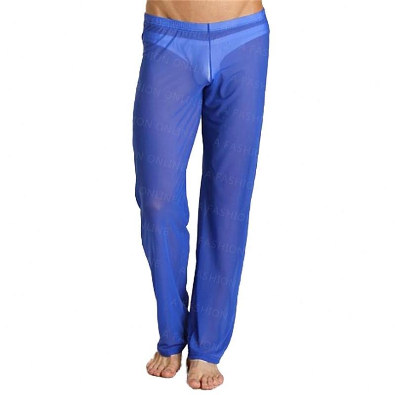 New-Cool-Sexy-Mens-Mesh-Pants-See-Through-Breathable-Sweatpants-4-Colors-Long-Sleeping-Pants-Gay (2)