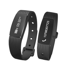 Smart wristband Heart rate monitor Fitness tracker wearable devices Bracelet fitness watch for Android IOS Touchpad OLED