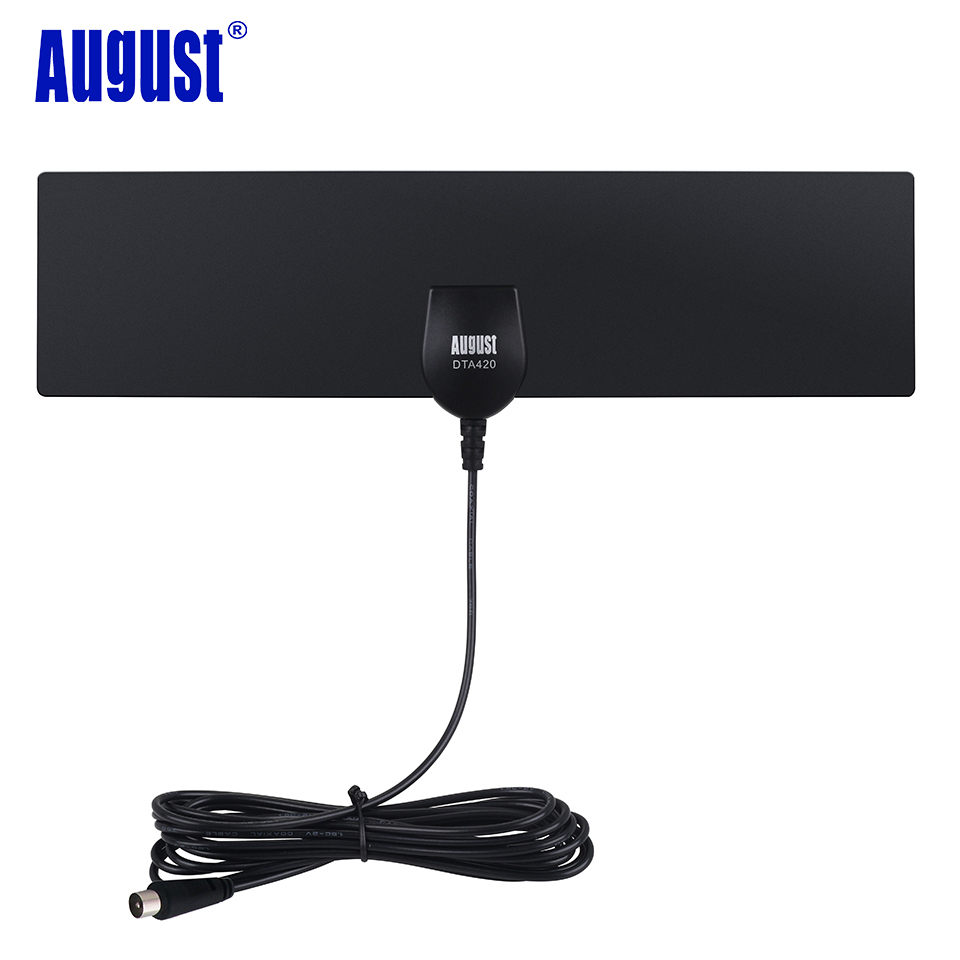 august dta420 high gain freeview hd digital tv antenna. Black Bedroom Furniture Sets. Home Design Ideas