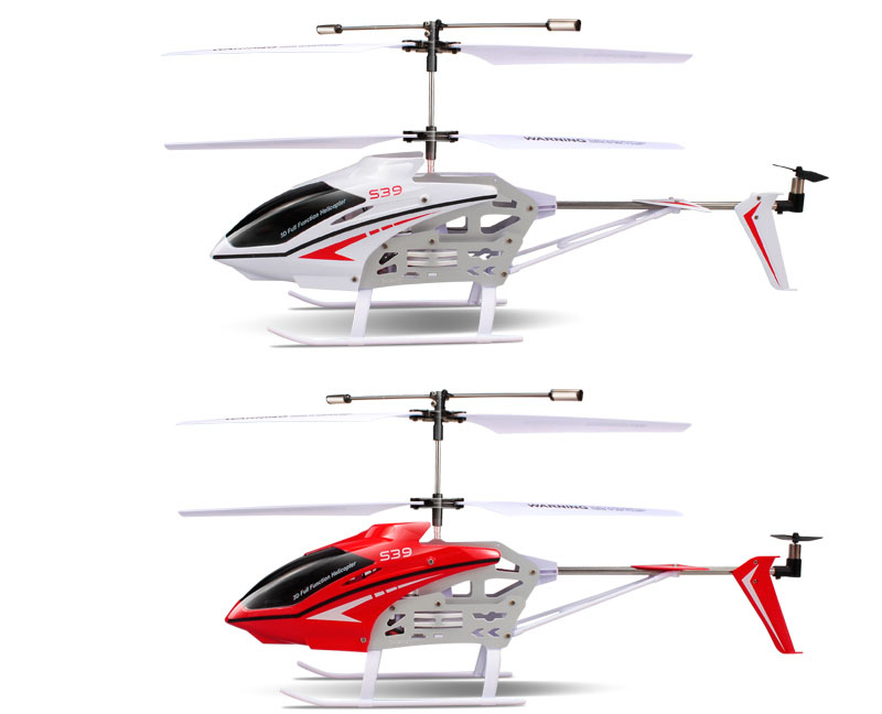Frete Grátis fresco 3CH S39 1 2.4g RC Helicóptero com GYRO Luz Colorida Piscando Anti Choque Eletrônico RC crianças & Brinquedos do bebê