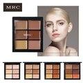 Mrc marca maquiagem 6 cores 3d concealer contour palette nude Eye Creme Para o Rosto Fundação Base de Gel Highlighter Bronzer Make Nu Up