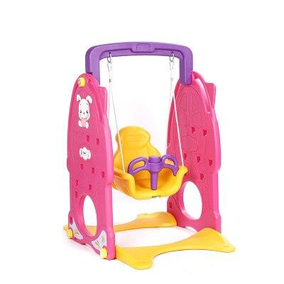 Multifunctional indoor children reinforce the slide swing toy Baby childrens indoor swing