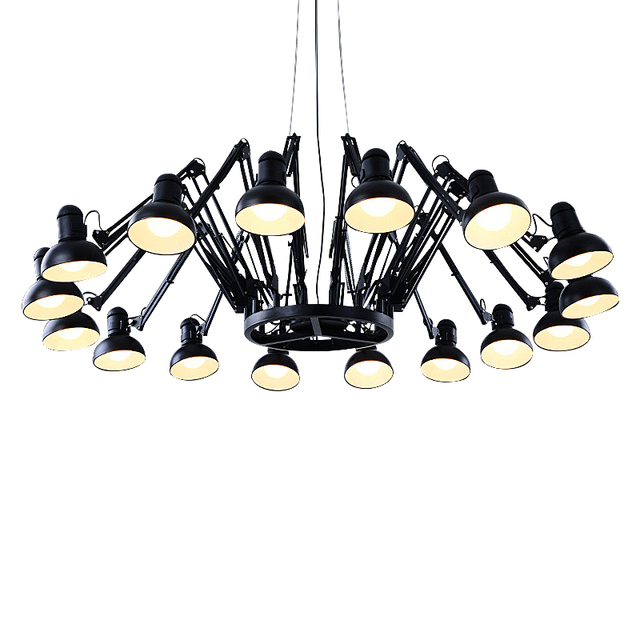 Wonderland 6 9 12 16 Lights Luxury Spider Chandelier Indoor Lighting Lamp Foyer