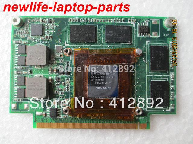 N75SF placa placa gráfica VGA originais MGM_N12E_2P 69N000V12A01P-01 60-N5UVG1000 GT555M 1 GB 100% de qualidade promessa trabalho navio rápido