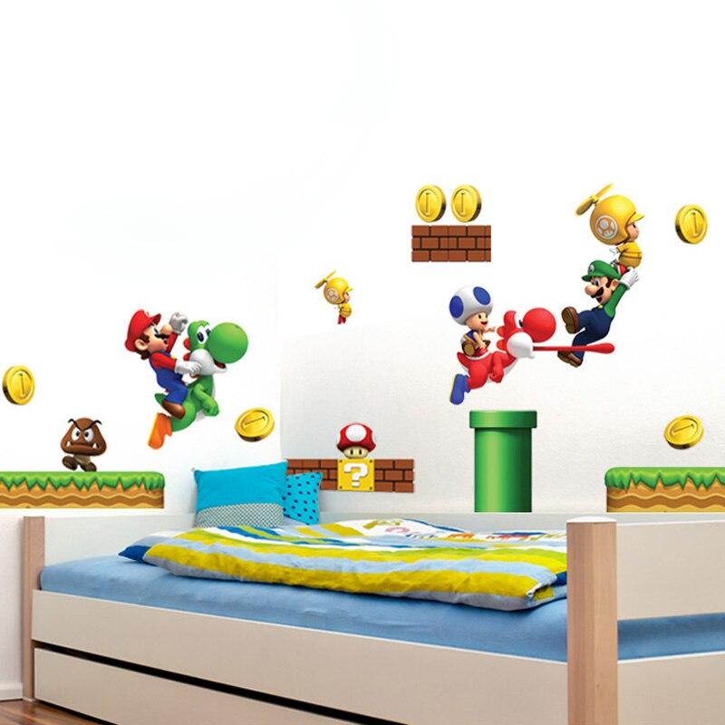 NESS Super Smash Bros Decal Removable WALL STICKER Art Mario Wii U Mario