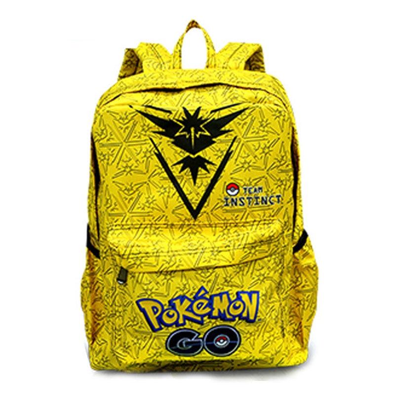 Kawaii Pokemon Leather Backpack Gift Boy Girl Students School Bags Big Capacity Games Pocket Monster Pikachu Print Backpacks pokemon pikachu haunter eevee bulbasaur canvas backpack students shoulders bag pocket monster haunter schoolbags laptop bags
