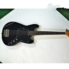 New high quality GYPB-6016 Black color black plate rosewood fretboard beautiful  Bass Guitar, Free shipping high quality new left handed electric bass guitar jazz bass sunset color electric guitar free shipping