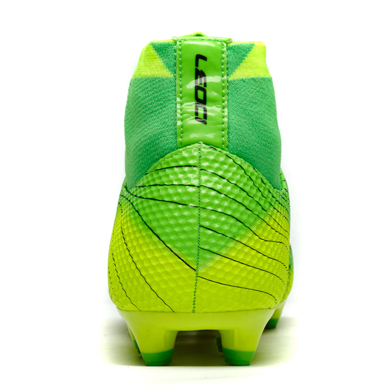 384af9157561c8 US $48.88 |2017 neue Fußballschuhe Männer Fußball Schuhe Jungen Kinder  Fußballschuh FG High Fußball Schuhe Große Größe Fußball Stiefel 34 45 ...