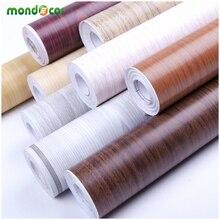 5M/10M Waterproof Vinyl Wall Stickers Self adhesive Wallpaper Furniture Wood Grain Contact Paper Kitchen Wardrobe Door
