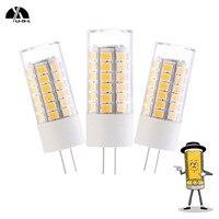 UDL 5 pcs/lot G4 LED Lampe de Maïs Ampoule 3 W SMD2835 51 PCS En Plastique AC/DC12V/DC12-30V Chaud/Blanc froid Remplacer Halogène