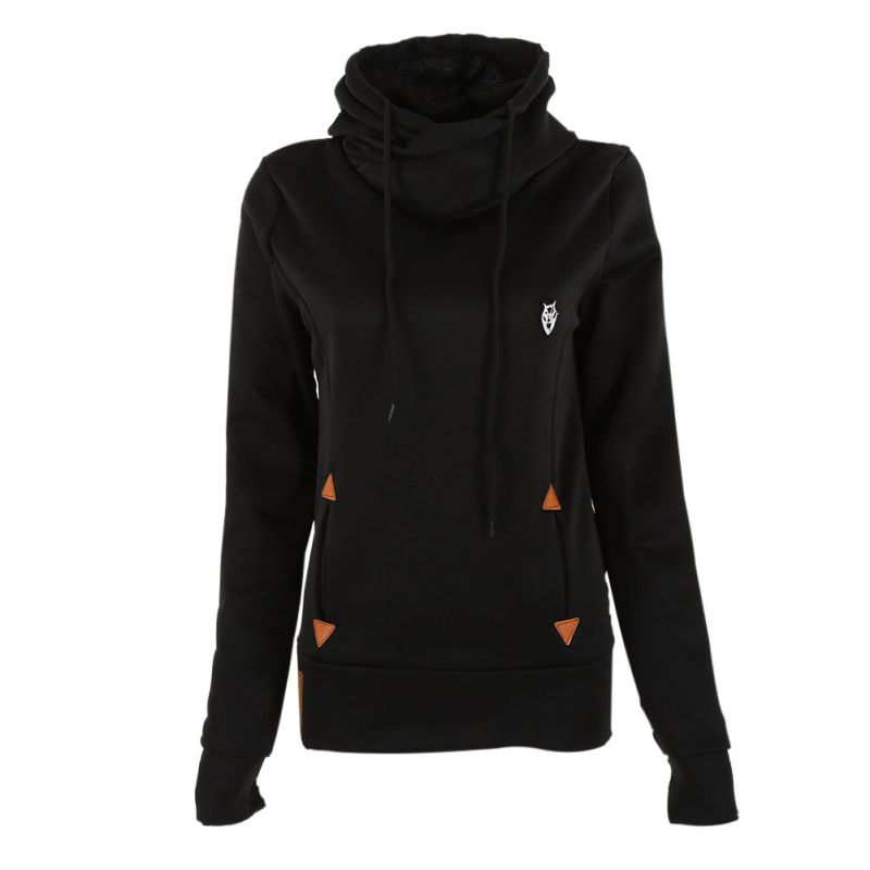 Korean Style  Spring Women Hoodies & Sweatshirts Casual Long Sleeve Hooded Sweatshirt  Women Hoodies Coat Pullover