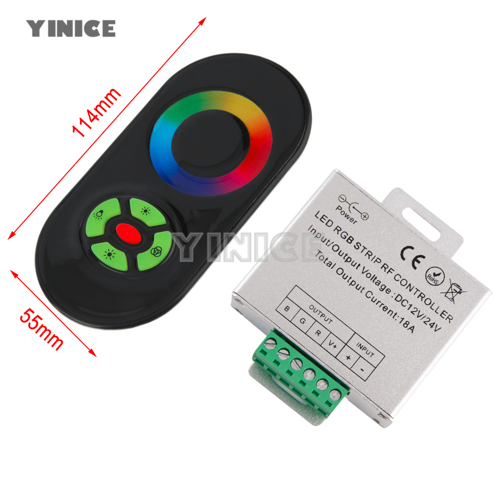 3pin 4pin 5pin 22awg Led Connect Rgb Wire Cable For Ws2812 3528 5050 Light Strips Ws2801 Lpd8806 Strip Dc 12v 24v Controller Rf Touch Screen Remote Control 6a Per Channel Smd