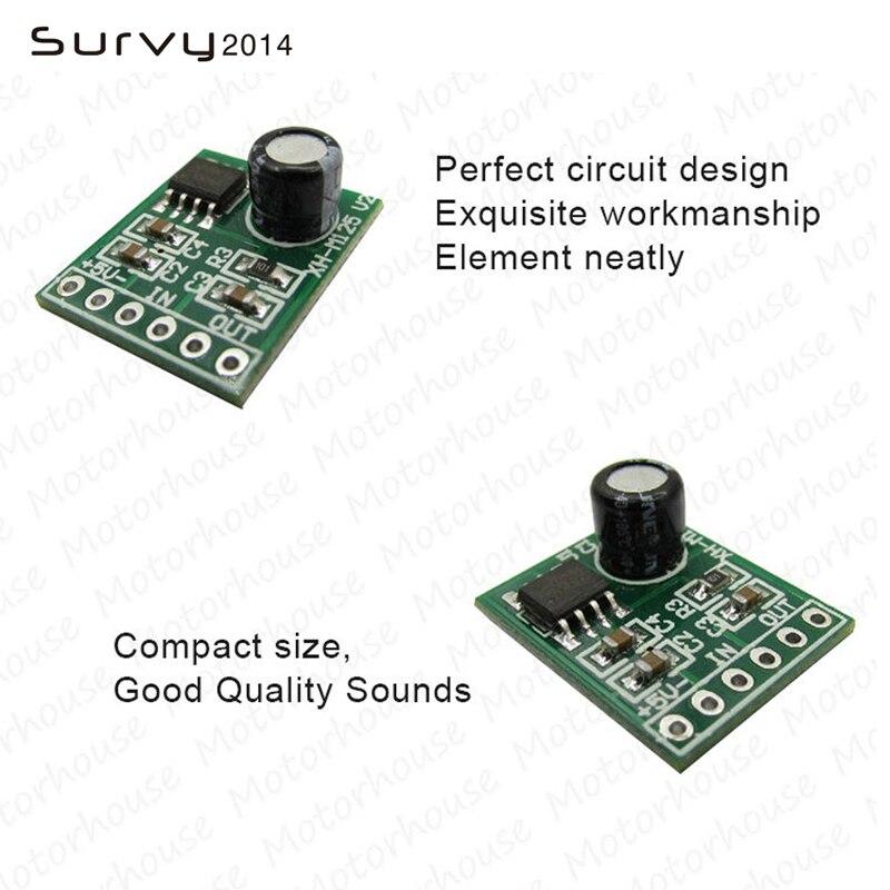 XPT8871 DC 3V 3.7V 5V Mono 5W Mini Amplifier Board Audio Amp Module One channel