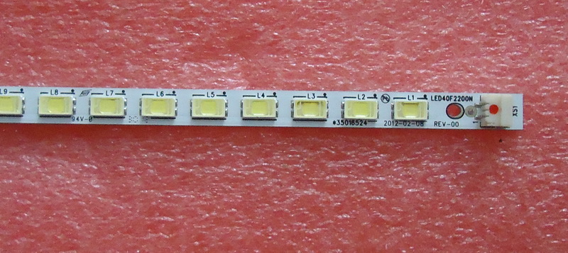 0-LED40F2200N Article lamp 35016524 37020253 1 шт. = 52LED 434 мм смотреть на Алиэкспресс Иркутск в рублях