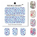 NICOLE DIARY Nail Art Water Decals Spring Flowers Stickers DIY Tips Decoration Nail Art Water Tattoo FM01-05