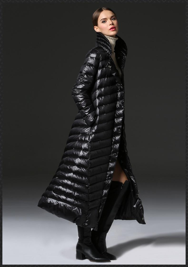 Warm clothing winter high end fashion women clothing long ...