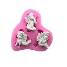 Sugarcraft 1 piece Baby silicone mold fondant mold cake decorating tools chocolate gumpaste mold