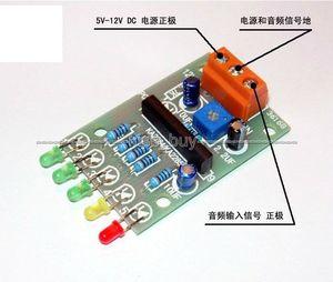 Image 2 - 5 LED VU Meter Driver Module Audio Level Indicator / Power Meter Board Level Indicating 5 12V dc
