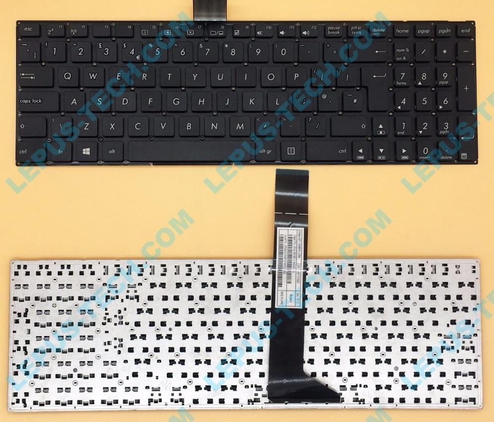 все цены на Original UK Keyboard for ASUS X550 X552 F550 Y581 English X550V X550C without frame A550C Y582L keyboard онлайн