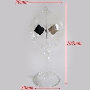 Image 2 - Energia solar crookes radiômetro modelo equipamento educacional radiômetro luz pressão moinho de vento bolômetro