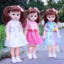 Новая говорящая кукла девочка принцесса детская игрушка dressup моделирование подарок на день рождения игрушки около 41 см