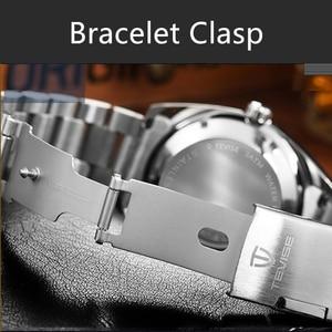 Image 5 - TEVISE mężczyźni zegarki Top marka luksusowe Casual zegarek kwarcowy mężczyzna ze stali nierdzewnej wodoodporny mężczyzna zegar Relogio Masculino 2020