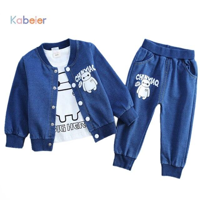 f3467083776b Childrens Boys Cowboy Clothes 3 Pcs Set Infant 0 4 Yrs Sports Suit ...