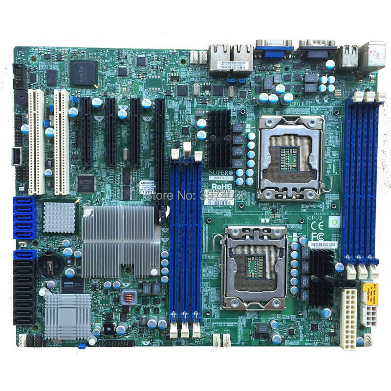 X8DTL-6 Dual X58 1366 Server Workstation Board