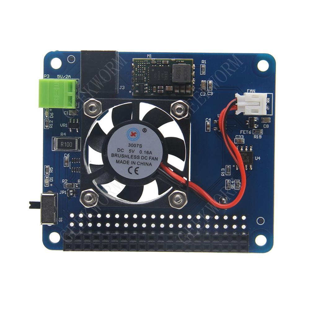 d22ca879430 Raspberry Pi 3 Model B+(Plus) 3B Programmable Smart Temperature Control Fan+Power  Hat Board
