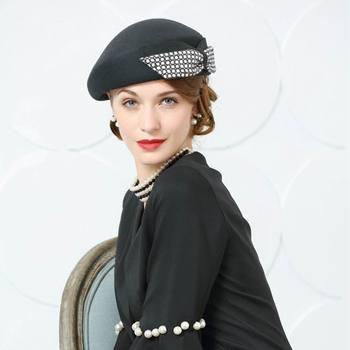 шляпа женская осенняя 5