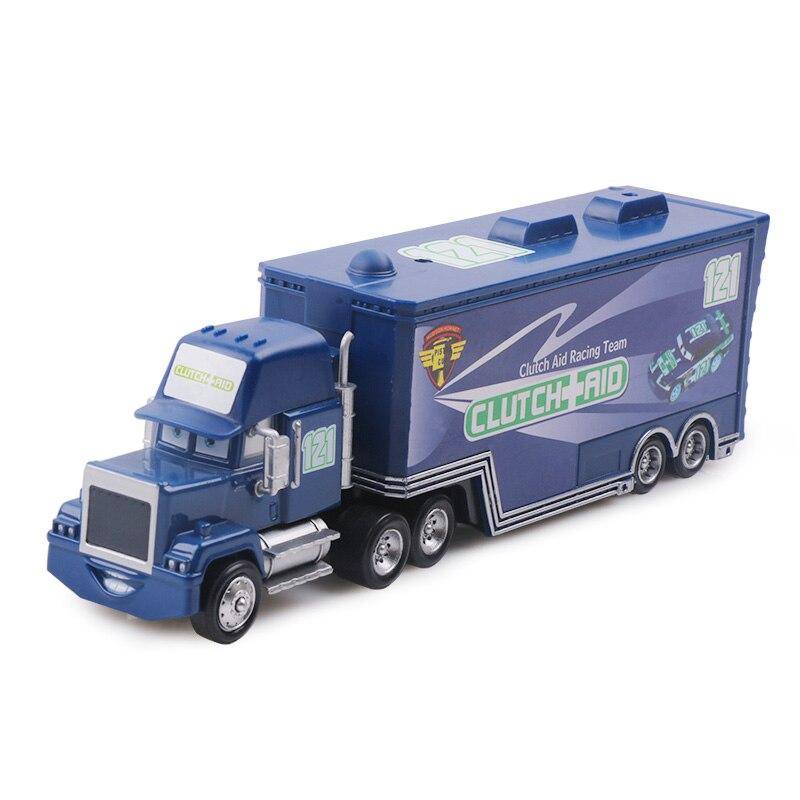 Дисней Pixar Тачки 2 3 игрушки Молния Маккуин Джексон шторм мак грузовик 1:55 литая модель автомобиля игрушка детский подарок на день рождения - Цвет: No.121
