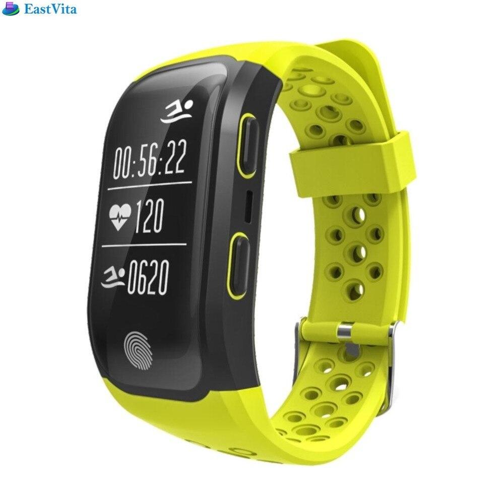EastVita Waterproof Smart sports Watch Touch Screen Heart Rate Monitor for Multiple Movements with GPS Location 20z garmin fenix 5s sapphire 42mm sports gps heart rate watch with compass