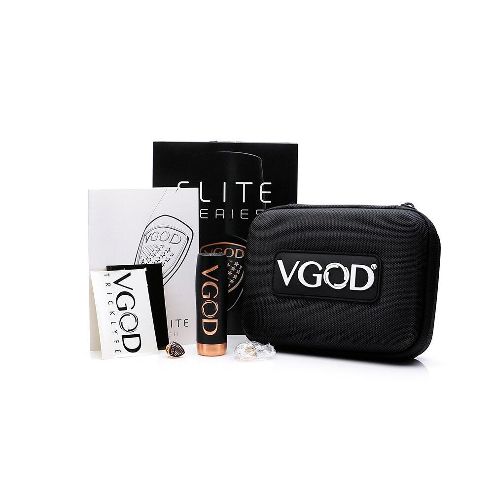 Original VGOD Elite Mech Mod match with vgod pro drip RDA single 18650 battery tube mod e cigarette vape